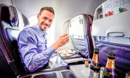British Airways A320 Business Class (Club Europe)