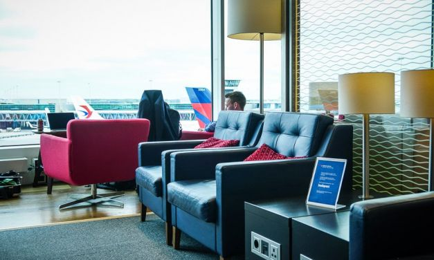 British Airways Business Class Lounge Amsterdam