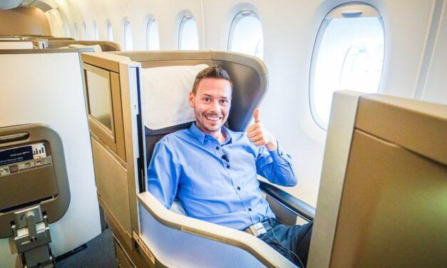 British Airways Business Class A380