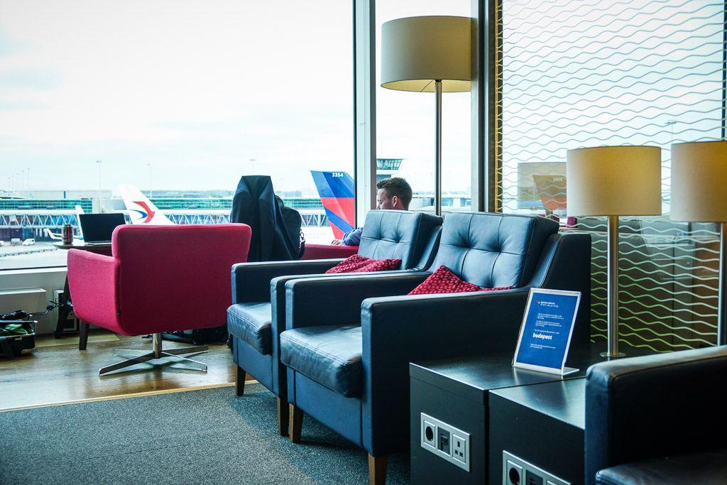 British Airways Business Class Lounge