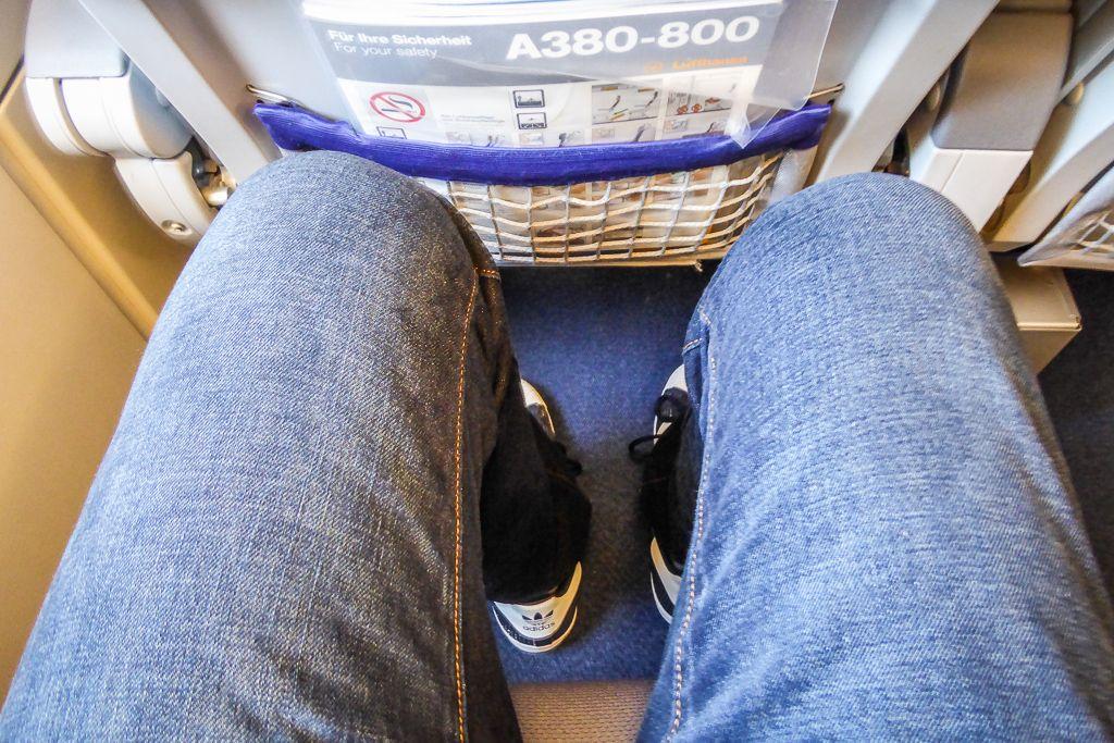 Lufthansa A380 Economy