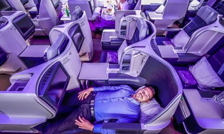 Malaysia Airlines Business Class A330-300