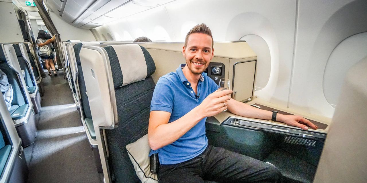 Cathay Pacific A350 Business Class