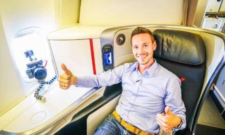 Air France Business Class 777