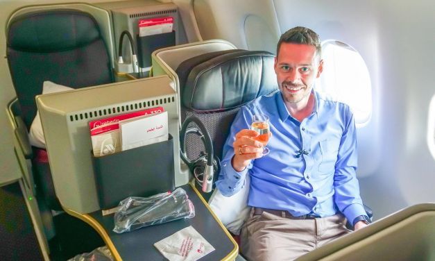 Air Berlin Business Class 2017 im A330