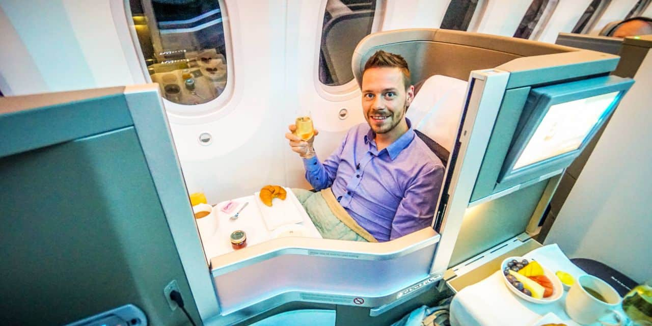 British Airways Business Class 787 Dreamliner