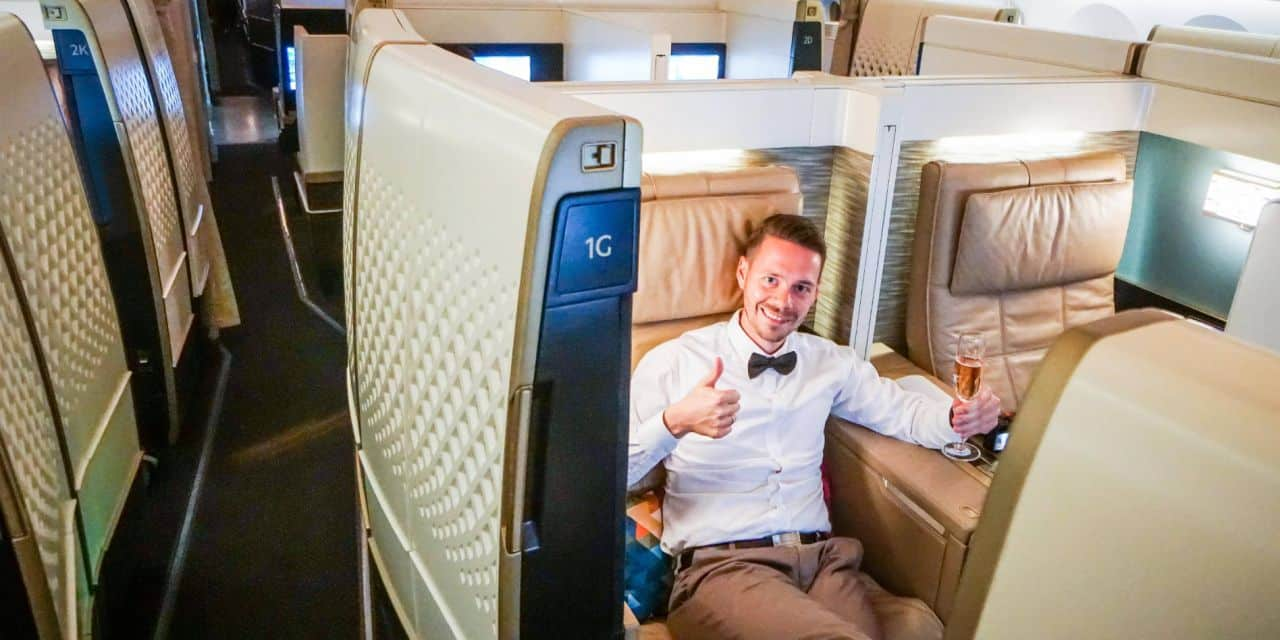 Etihad First Class Suite 787 Dreamliner