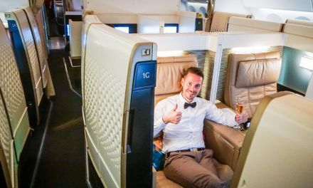 Etihad First Class Suite 787 Dreamliner