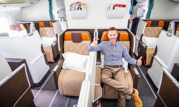 Oman Air Business Class 787 Dreamliner