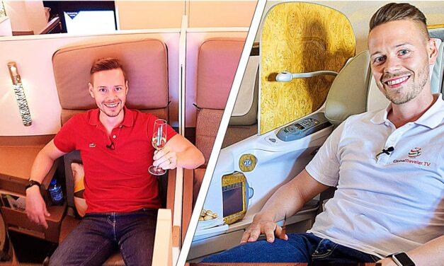 Emirates vs. Etihad Business Class