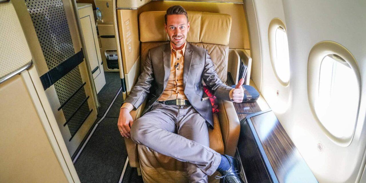Etihad First Class Suite A340-600