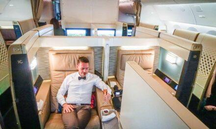 In der Etihad FIRST Class nach Tokio ab 1315€