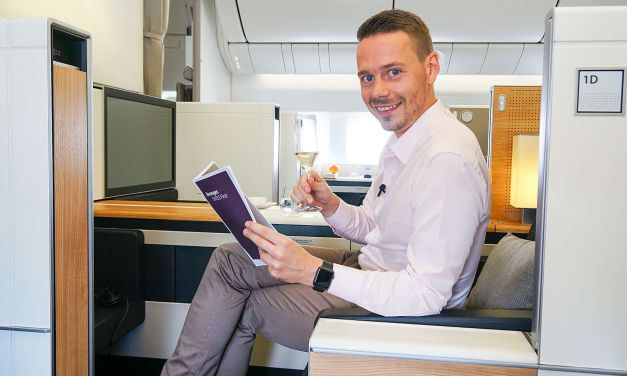 SWISS First Class 777-300ER