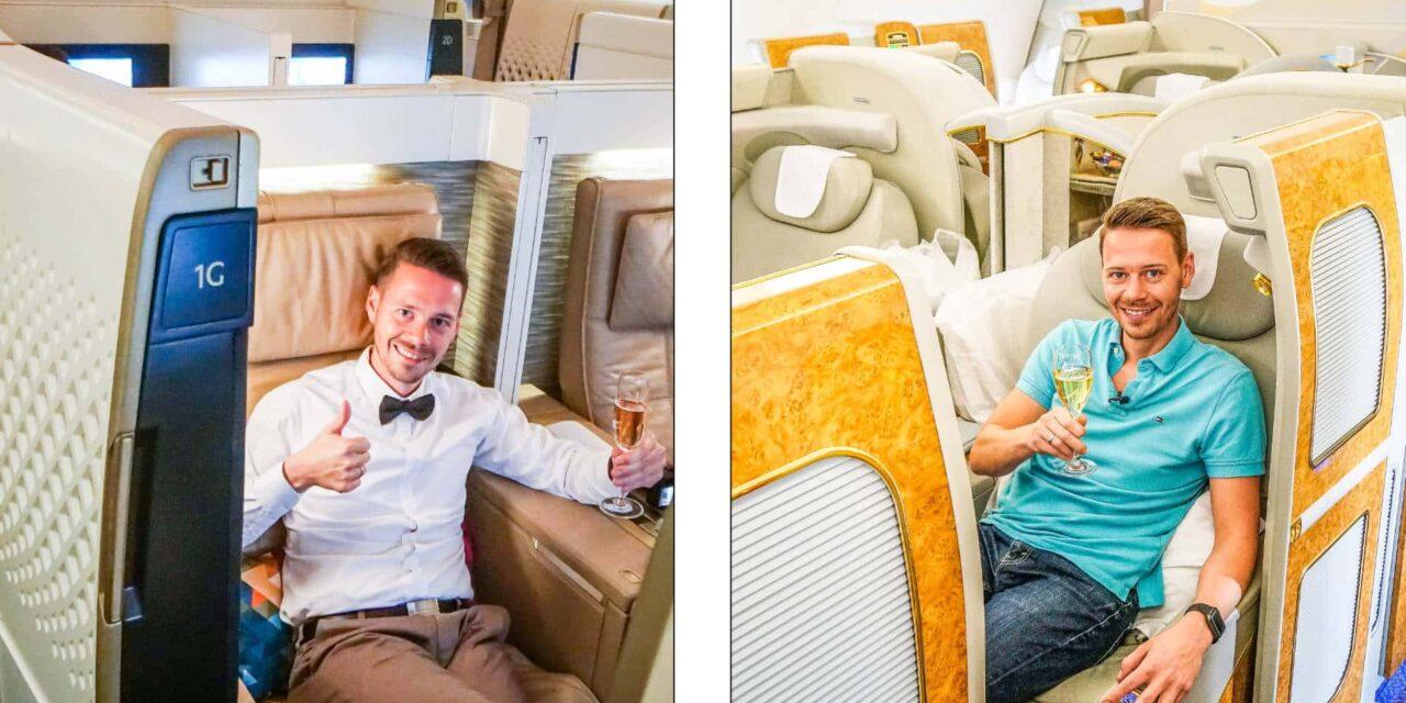 Emirates vs. Etihad First Class