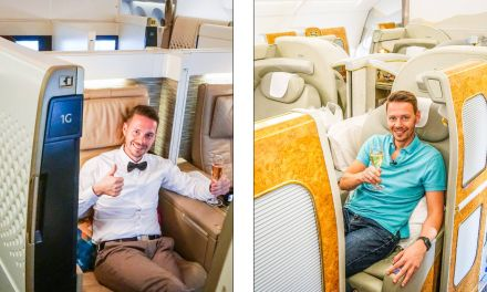 Emirates vs. Etihad First Class