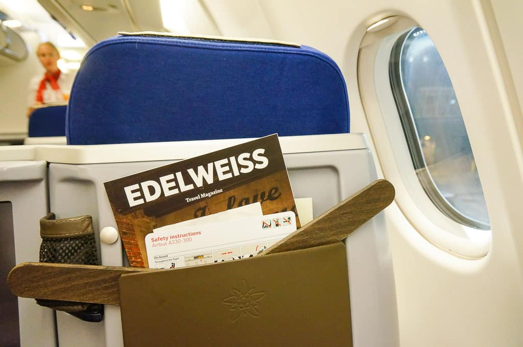 Edelweiss Business Class