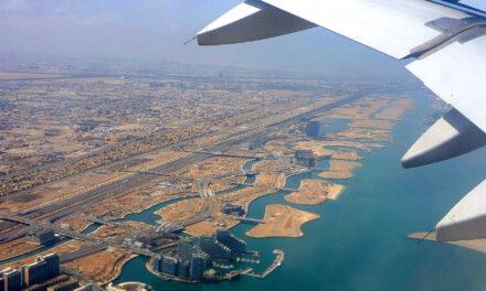 Air Berlin A330 Taxi, Takeoff und Landung von Abu Dhabi nach Berlin