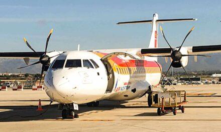 Iberia Economy Class ATR 72-600 operated by Air Nostrum