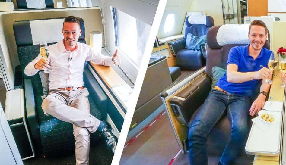Lufthansa vs. SWISS First Class