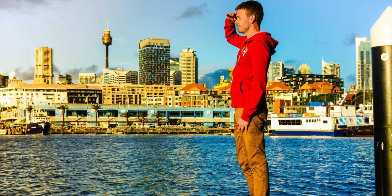Sydney zwischen den Flügen