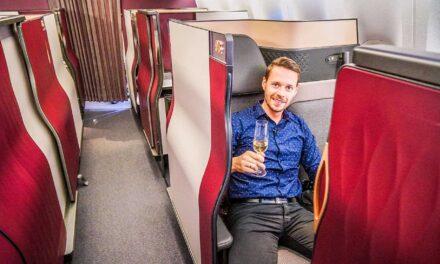 Qatar Airways Q Suite Business Class