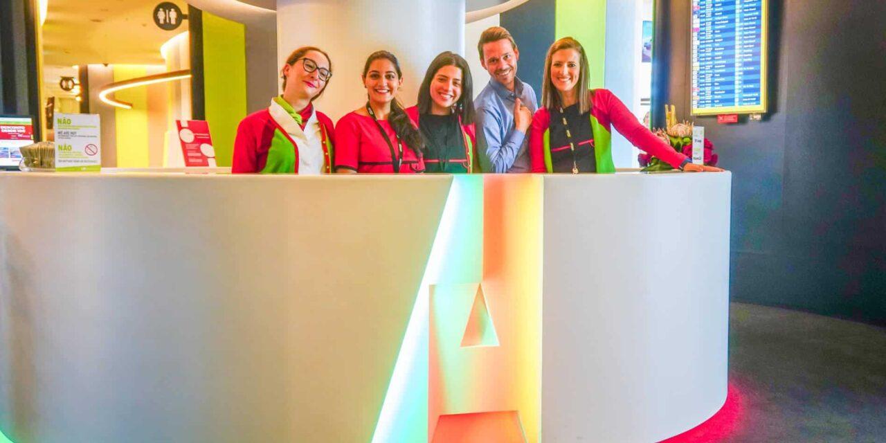 Die neue TAP Portugal Premium Lounge in Lissabon