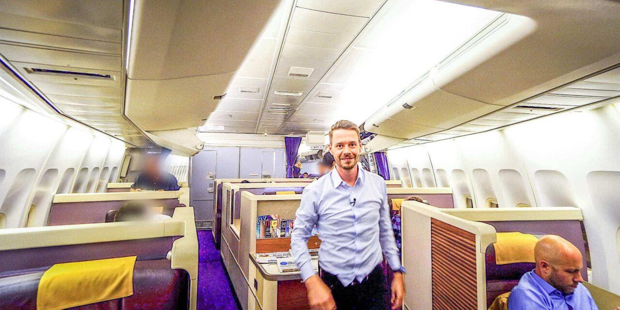 Thai Airways Royal First Class 747-400