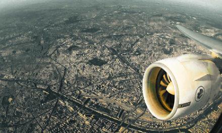 INSANE VIEWS | Air France B777 Paris New York