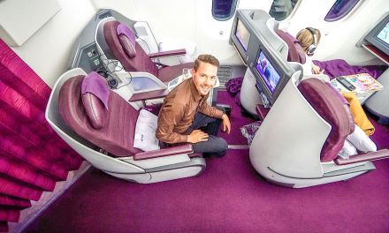 Thai Airways Royal Silk (Business Class) 787-8