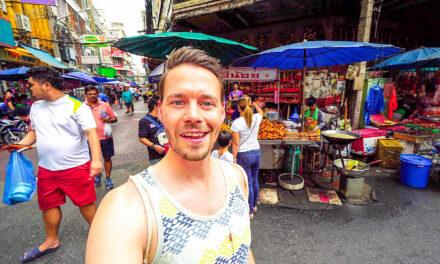 Bangkok Chinatown, Nightmarket und Einladung bei Locals