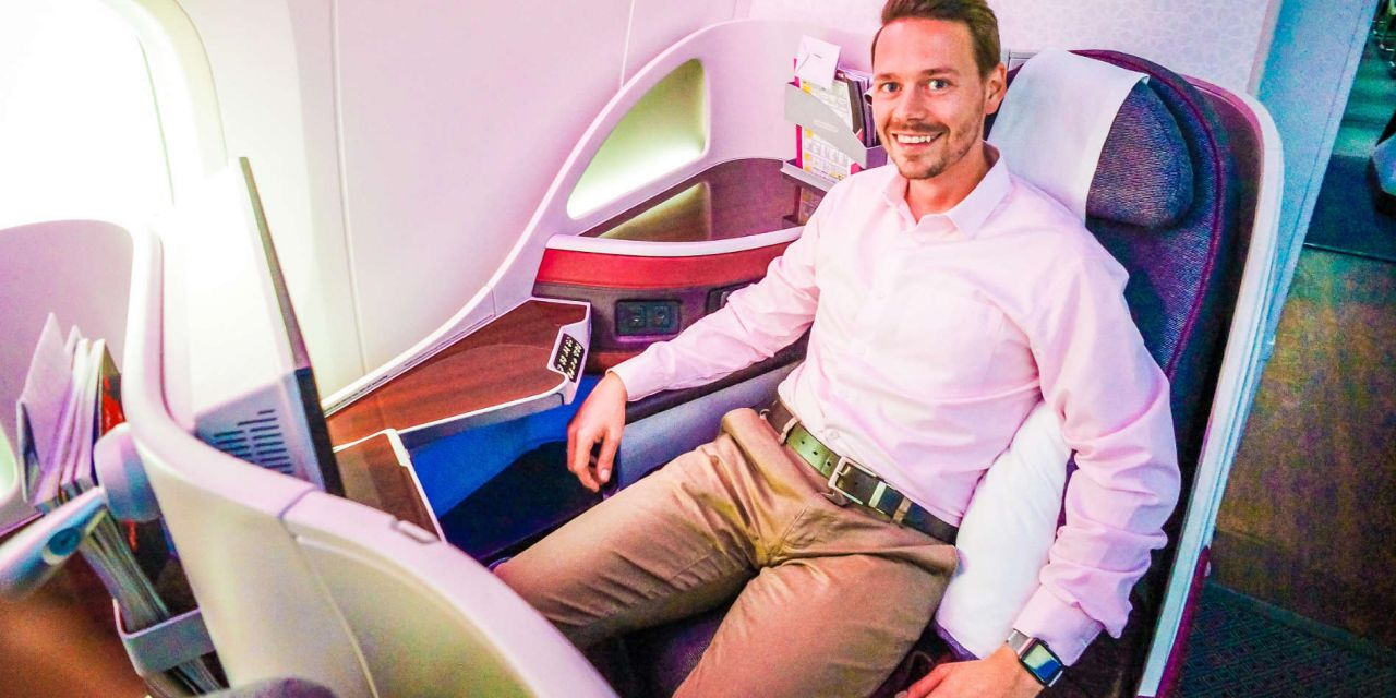 Qatar Airways Business Class 787-8