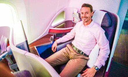 Qatar Airways Business Class 787-8