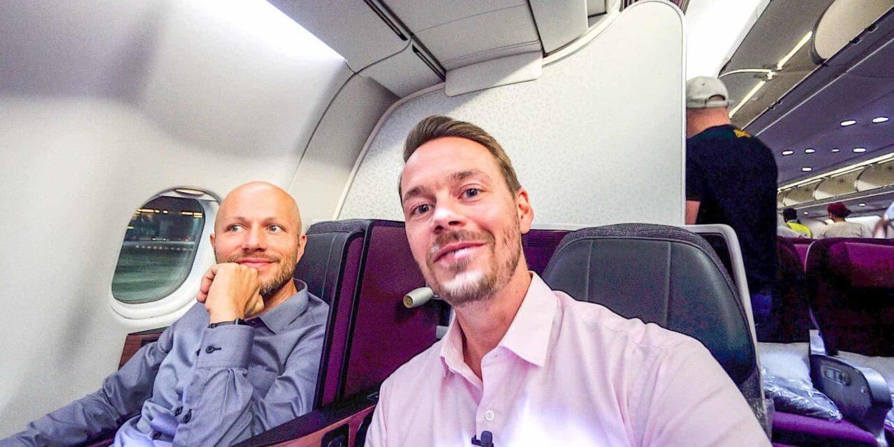 Mit Qatar nach Bangkok ins Hilton und zum Schneider