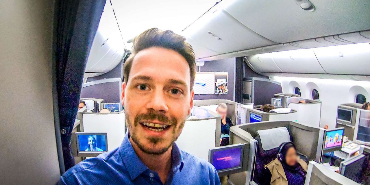 Upgrade in die Business Class British Airways