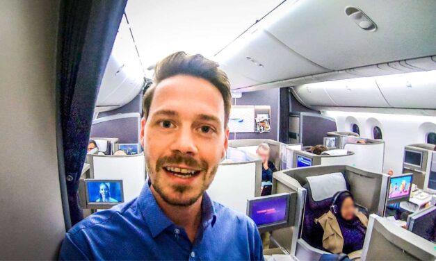 Upgrade in die Business Class British Airways