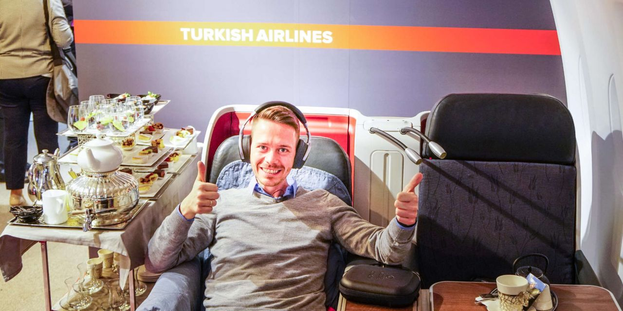 Turkish Airlines Business Class 777-300ER