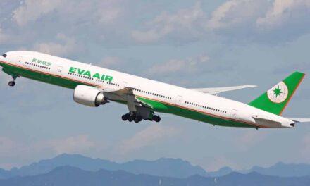 EVA Air Business Class Boeing 777-300ER