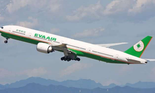 EVA Air Business Class Boeing 777-300ER