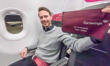 Eurowings Best (Business Class) Tripreport A320