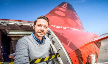 Verspätet und fast verpasst, Brussels Airlines nach Hannover