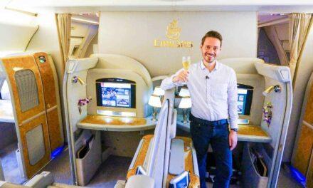 Luxus überall! EMIRATES First Class 777-300ER