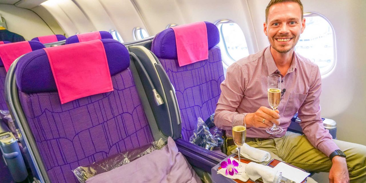 Thai Airways Business Class A330-300