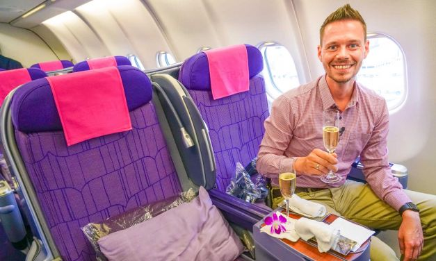 Thai Airways Business Class A330-300