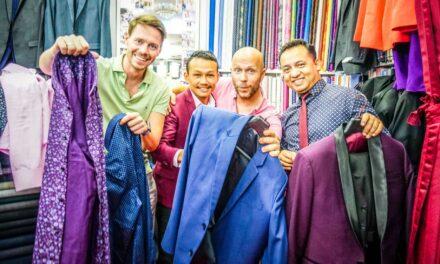 So lässt man Anzüge & Hemden beim Schneider in Bangkok machen