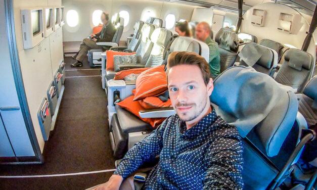 Die Singapore Airlines Premium Economy im A350-900