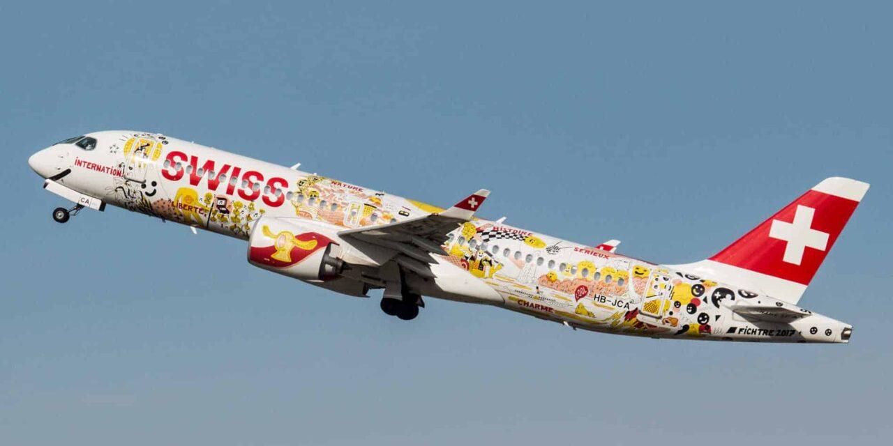 Mit der Swiss CS300 von Zürich nach Düsseldorf Tripreport