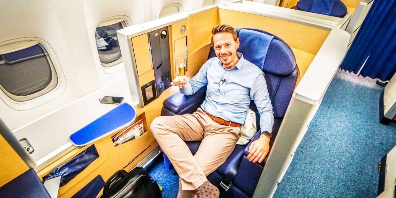 ANA First Class Boeing 777-300ER