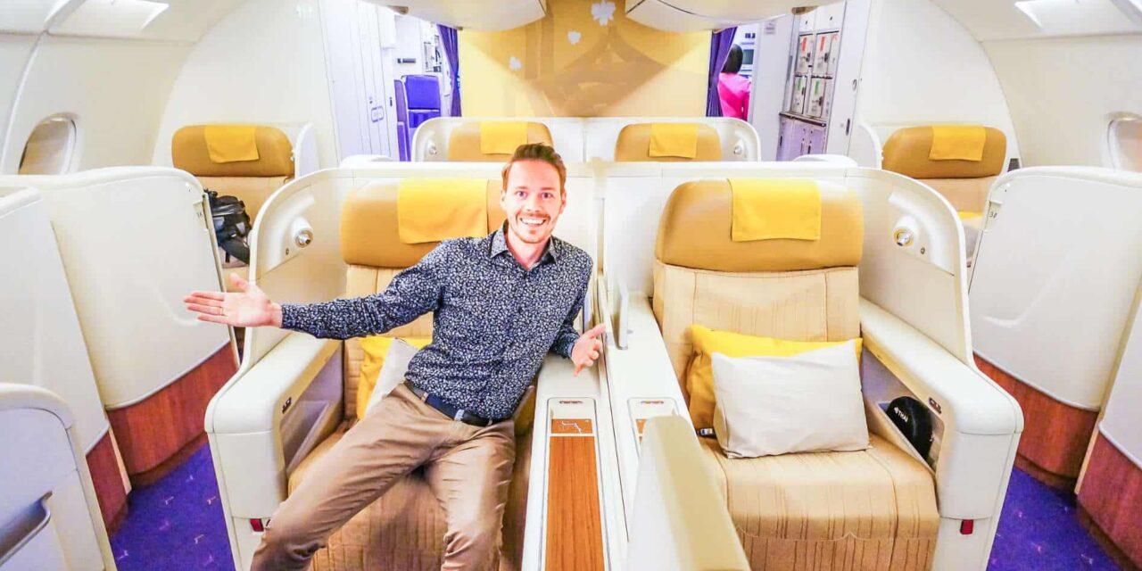 Thai Airways Royal First Class A380