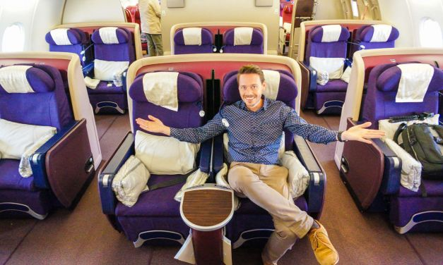 Malaysia Airlines Business Class A380