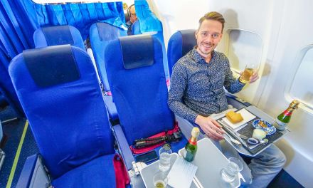 KLM Boeing 737-700 Business Class